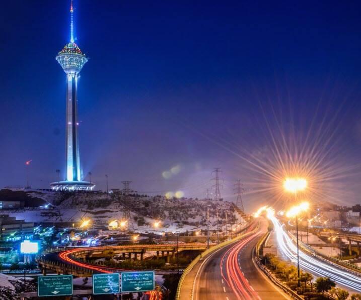 تصویری از تهران - برج میلاد